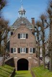 Nieuwpoort urząd miasta fotografia stock