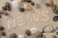 NIEUWS stock fotografie