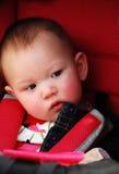 Nieuwsgierig kind Stock Foto's