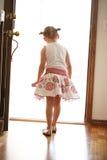 Nieuwsgierig kind Stock Afbeeldingen