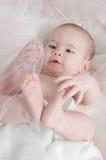 Nieuwsgierige Baby Stock Foto's