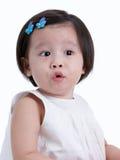 Nieuwsgierige baby Royalty-vrije Stock Afbeeldingen