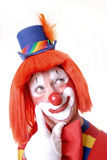 Nieuwsgierige Clown Royalty-vrije Stock Fotografie