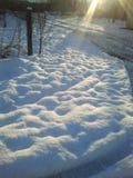 nieve Foto de archivo