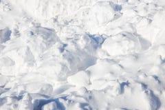 Nieve asoleada Foto de archivo
