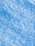 Nieve azul Foto de archivo libre de regalías