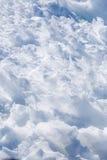 Nieve azul Imagen de archivo libre de regalías