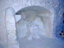 Nieve Belén - alto Tatras - Eslovaquia Imagen de archivo libre de regalías