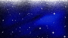 Nieve Bkg descendente 1 AZUL libre illustration