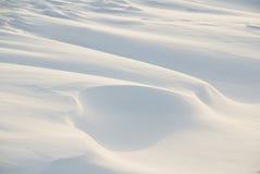 Nieve blanca Fotos de archivo libres de regalías
