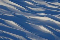 Nieve de deriva Fotos de archivo libres de regalías