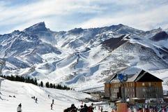 Nieve de la montaña Foto de archivo libre de regalías