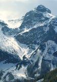 Nieve de la montaña Imagen de archivo libre de regalías