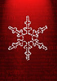 Nieve de la Navidad Imagenes de archivo