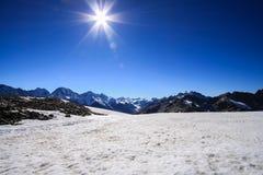 Nieve de piedra Sun Imagenes de archivo