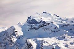 Nieve de Suiza Foto de archivo