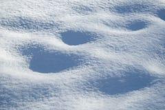 Nieve del blanco puro de la textura Foto de archivo libre de regalías