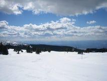 Nieve del cielo Fotografía de archivo