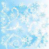 Nieve del invierno Imagenes de archivo