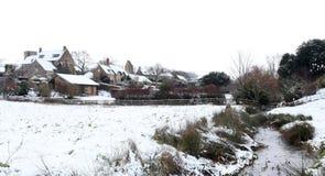 Nieve del invierno Fotografía de archivo