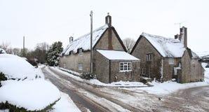 Nieve del invierno Imagen de archivo