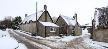 Nieve del invierno Imágenes de archivo libres de regalías
