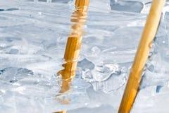 Nieve e hielo Imágenes de archivo libres de regalías