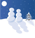Nieve en amor Imagen de archivo