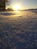 Nieve en Austria Fotografía de archivo libre de regalías