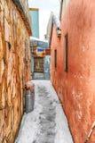 Nieve en Jerusalén Imagen de archivo libre de regalías