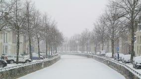 Nieve en la ciudad vieja metrajes