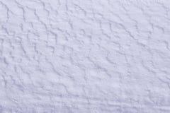 Nieve en la tierra Imagen de archivo libre de regalías