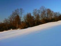 Nieve en las montañas (Vercors), Francia Imagenes de archivo