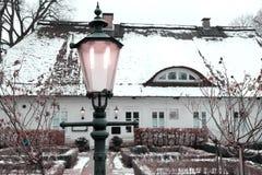 Nieve en primavera Foto de archivo