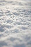 Nieve fresca en la tierra Fotos de archivo libres de regalías