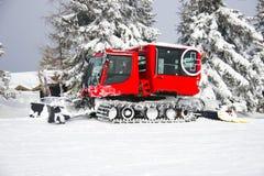 Nieve Groomer Foto de archivo libre de regalías