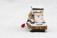 Nieve inesperada Fotografía de archivo