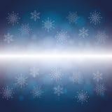 Nieve o copo de nieve del invierno Foto de archivo libre de regalías