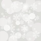 Nieve que cae Fotografía de archivo libre de regalías
