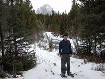 Nieve Shoing fotografía de archivo libre de regalías