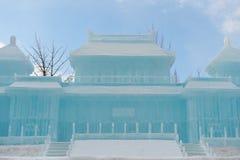 Nieve Sulpture Fotografía de archivo libre de regalías