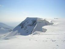 Nieves se extiende en invierno Fotografía de archivo