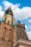 Niew Kerk, Nieuwe Kerk stock afbeelding