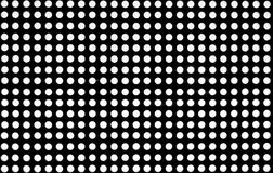 Niewiadoma kratownica z czerni i whyte kolorami Zdjęcia Stock