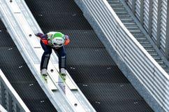 Niewiadoma narciarska bluza zdjęcie stock