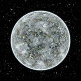 Niewiadoma obca planeta w przestrzeni Obraz Royalty Free