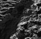 Niewiadomej obcej planety popielata powierzchnia ocienia światła 3d odpłacają się Obrazy Royalty Free