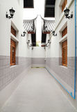 Niewidoma aleja między budynkiem Obrazy Royalty Free