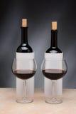 Niewidoma wino degustacja Zdjęcia Royalty Free
