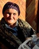Niewidomy Azerbejdżański targowy handlowiec w Baku, kapitał Azerbejdżan obraz royalty free